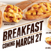 Taco Bell Launches Breakfast, Gift Store