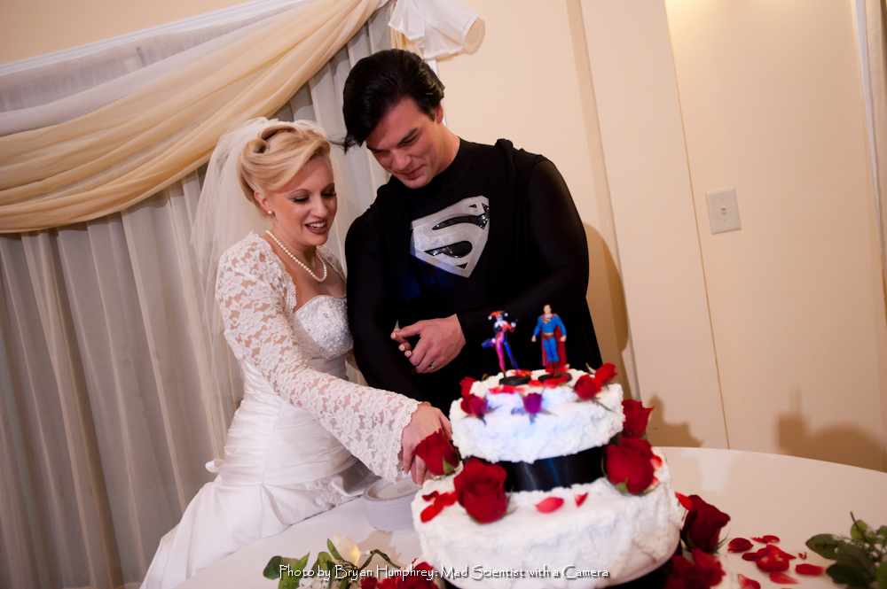 Dc Comics Inspired Wedding The Geeky Hostess
