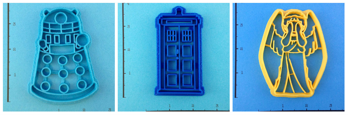 DoctorWhoCookieCutters