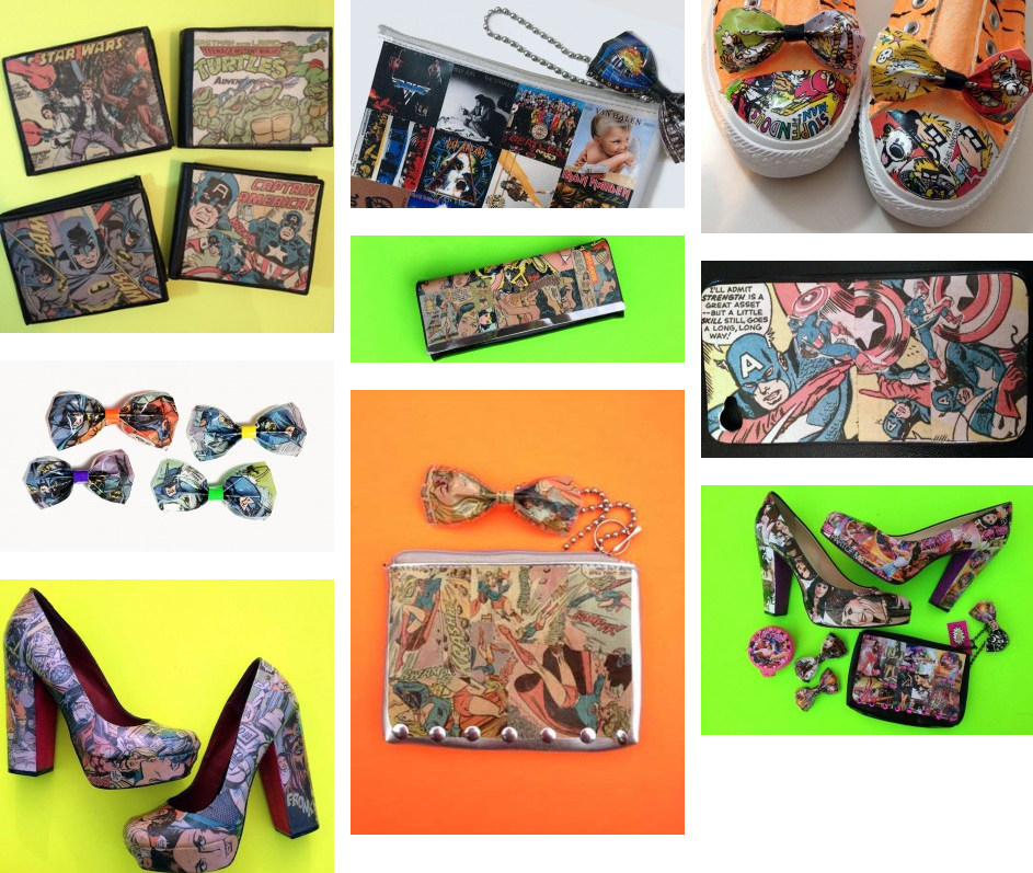 Comic Book Accessories by Bexx Fine | The Geeky Hostess