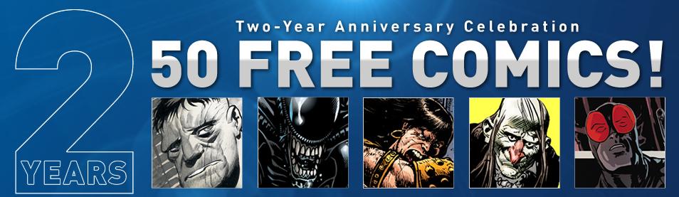 50 free comics