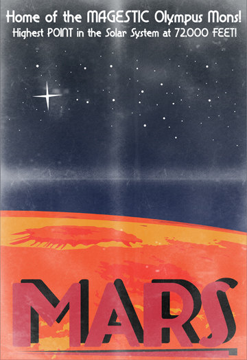 Mars poster