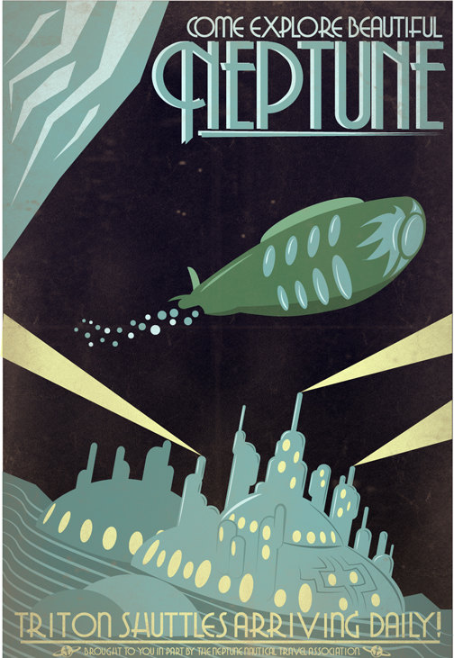 Neptune poster