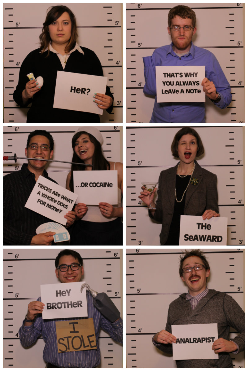 Arrested Development Mugshots