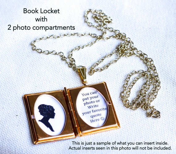 custom book locket 2