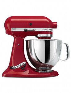 kitchenaid mixer decal sir mix a lot