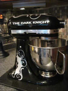 kitchenaid mixer decals dark knight