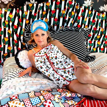 Amy Sedaris Fabric