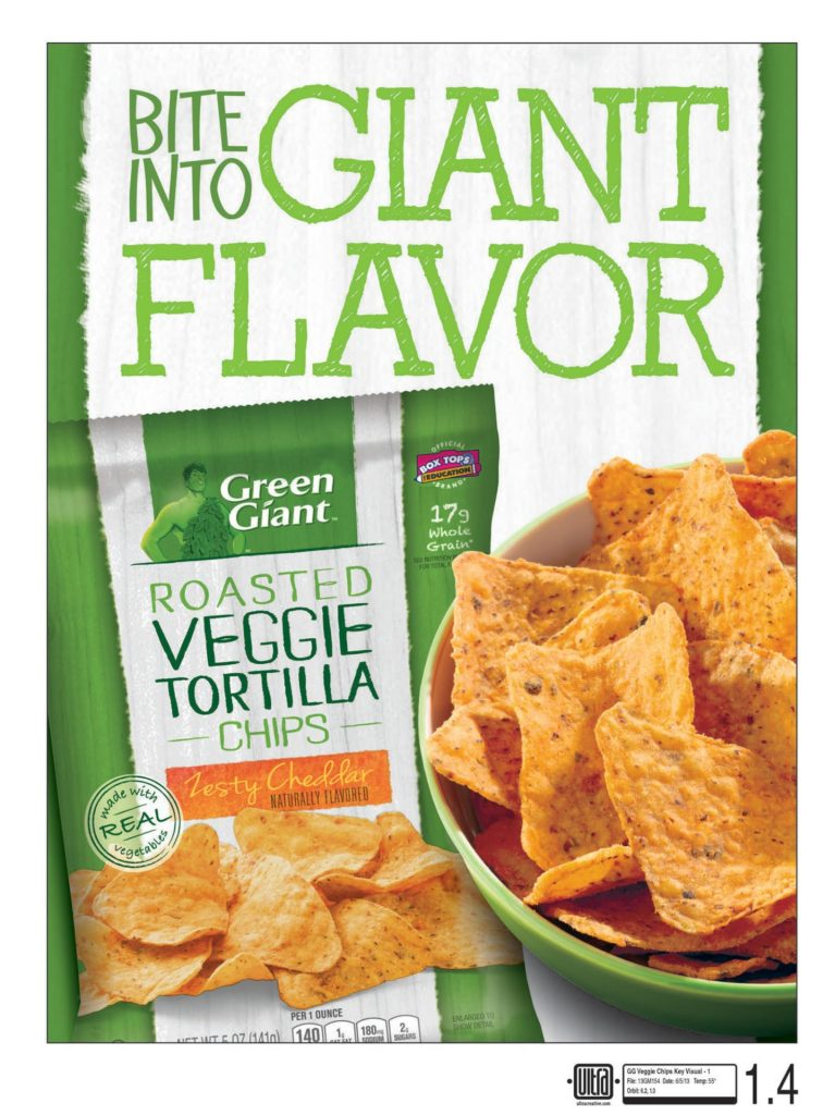 Green Giant Veggie Chips Key Visual 1