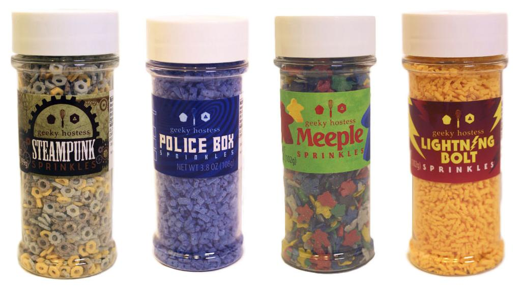 Geeky Sprinkle Bottles