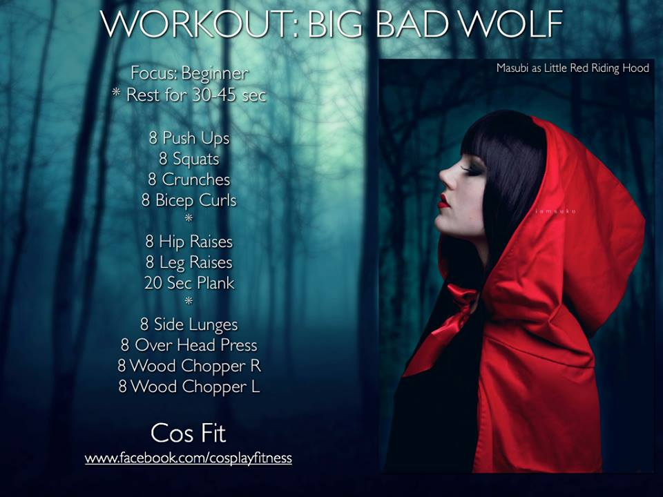 Cos-Fit Big Bad Wold