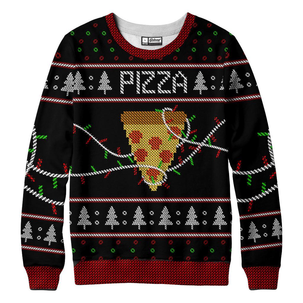 "Geeky ""Ugly"" Holiday Sweaters 