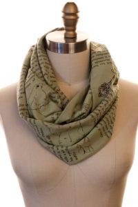 Secret Garden scarf
