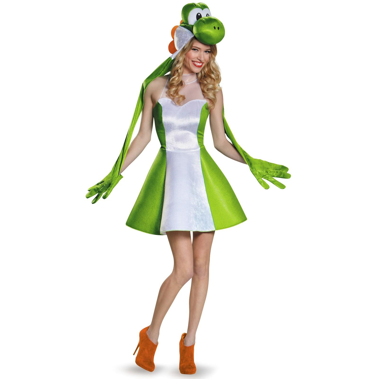 Costume Yoshi  sc 1 st  The Geeky Hostess & Weirdest